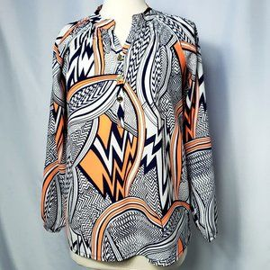 NWOT Tracy Negoshian Lightweight Summer Blouse